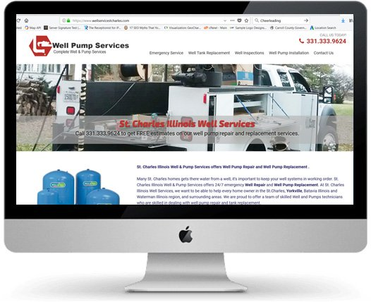 Well Service Web Design